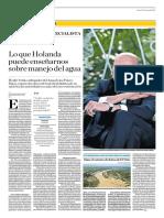 Lo Que Holanda Puede Enseñarnos Sobre Manejo Del Agua