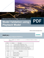 Playback Model PSSE