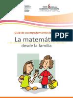 La Matemática Desde La Familia