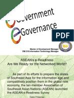 e Government e Governance