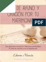 Guía de Oración y Ayuno Por Tu Matrimonio