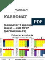 SS9 Karbonat Sikuen Stratigrafi