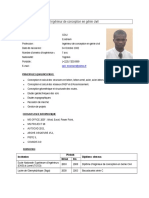 CV Ingénieur Goli