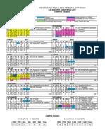 TD - Calendario Academico 2017
