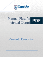 CREANDO EJERCICIO-CHAMILO