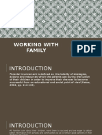 Working With Family