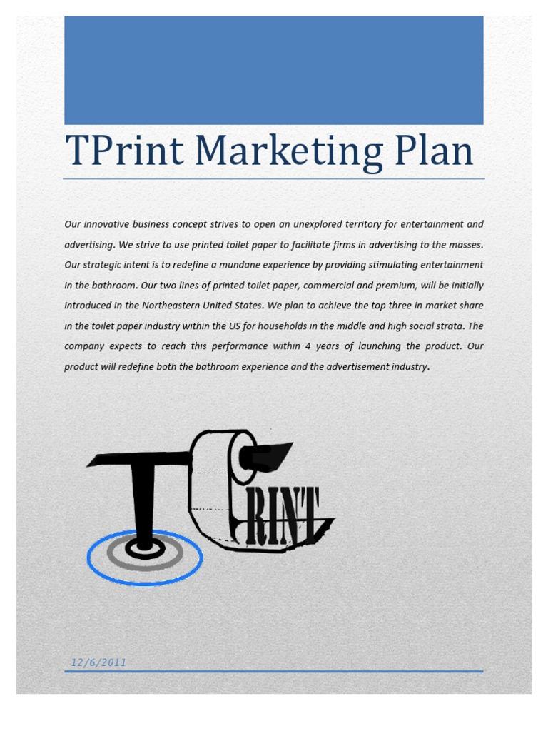 Toilet Paper Marketing Plan | Advertising | Brand