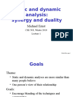 Lecture1 Static Dynamic