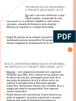 Rolul Asistentei Medicale in Ingrijirea Pacientului Cu Infarct