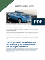 Vehículos Eléctricos Con Carga Online