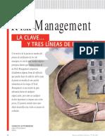 002 - Risk Management - Lineas de Reflexión