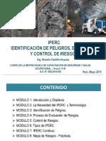 Iper, Iperc Identificacion de Peligros, Evaluaciu00f3n y Control de Riesgos