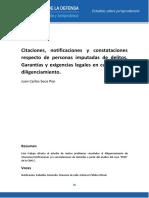Citaciones Notificaciones Constataciones Juan Carlo Seco Pon