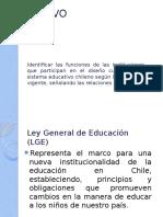 Identificar Las Funciones de Las Instituciones Que Participan