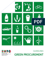 Expo 2015 Milano Cluster Guidelines