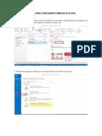 Manual Firma Outlook