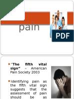 Pain 1st Year