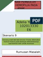Ppt Blok 24 Adel (Hemofilia)