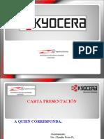 Carta Presentacion KYOCERA
