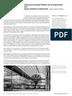 La Aportación Estructural Del Crystal Palace de La Exposición