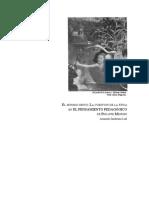 El mínimo gesto- La cuestión de la ética en EL PENSAMIENTO PEDAGÓGICO de Philippe Meirieu