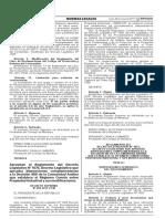 Decreto Supremo N° 059-2017-PCM