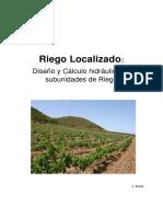 3 INGENIERIA DEL RIEGO III-  Diseño y dimensionado de subunidades de riego