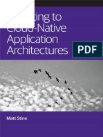 Migrating Cloud Native Application Architectures