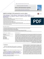 Applied Ontologies and Standards for Service Robots