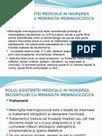 Rolul Asistentei Medicale in Ingrijirea Pacientilor Cu Meningita