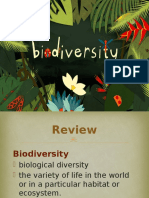 Biodiversity- Classification of Living Things