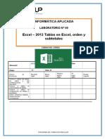 Lab 09 Excel