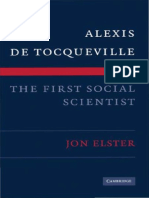 Jon ELSTER (2009) - Alexis de Tocqueville, The First Social Scientist