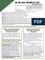 131129a5 Quidhampton Village Newsletter December 2013