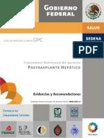 Pretransplante hepatico