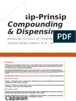 1. Prinsip-Prinsip Compounding & Dispensing