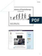 Evolution of Psychotherapy Handouts