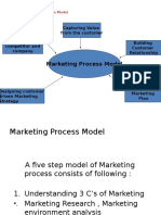 Marketing Process Model & STP