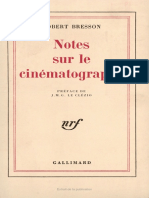 Notes Sur Cinematographe