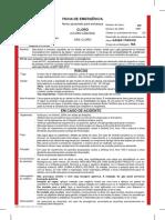 Ficha de Emergencia Cloro Liquido Rev 19 0814