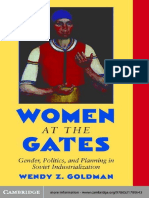 Goldman, Wendy 'Women at the Gates - Gender and Industry in Stalin's Russia'.pdf