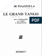 Piazzolla Le Grand Tango Piano Part