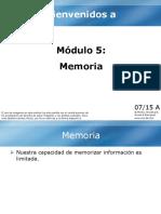 5. Modulo a (Memoria)