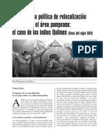 La reducciòn de los Indios Quilmes