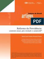 Futuros Artigos Previdencia Maria Lucia Werneck Vianna