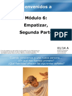 6. Modulo a (Metacognicion II) BADE