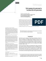 Del manejo de personal a la dirección de personas.pdf