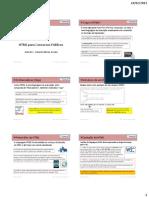 HTML - Aula 01 - Caracteristicas Gerais - Folhetos
