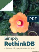 Simple Rethinkdb Introduction
