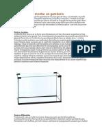 Guía de Cómo Montar Un Acuario Para Camarones